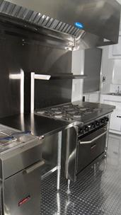 Concession Trailer Oven