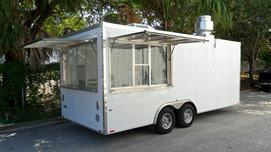 concession trailer hood system