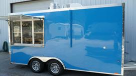 Pepsi Blue Concession Trailer