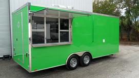 food relief trailer